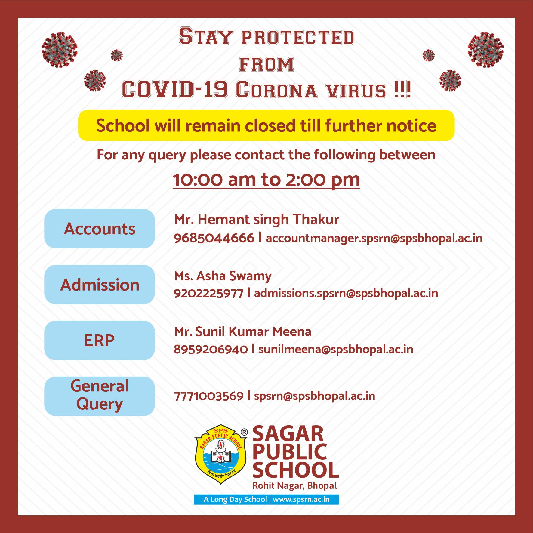 Stay Protected from COVID-19 Corona Virus!!!